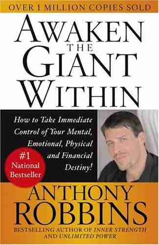 كتاب أيقظ العملاق الذي بداخلك لـ أنتوني روبنز
